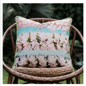 Tiare Lei by Samudra Pillow Cover by Aloha Collection.